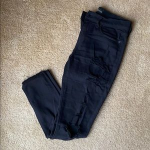 Express MidRise Distressed Jegging
